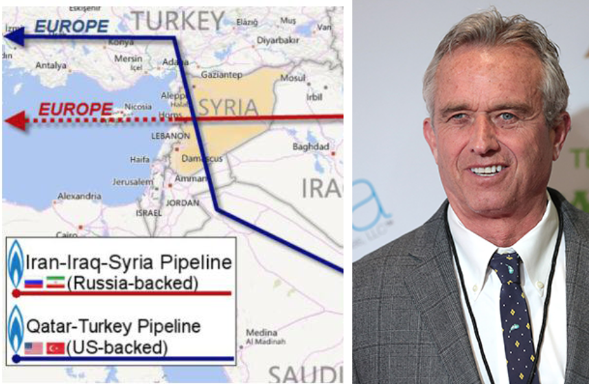 ROBERT F. KENNEDY JR. EXPLAINS THE REAL REASON THE WEST IS TRYING TO DESTABILIZE SYRIA