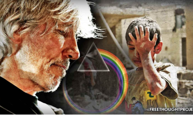 Pink Floyd Frontman Stops Concert To Explain False Flag Chemical Attack in Syria