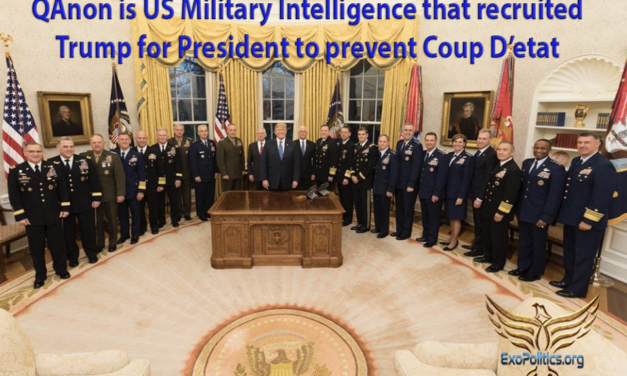 Dr. Michael Salla: QAnon is US Military Intelligence that recruited Trump for President to prevent Coup D'etat
