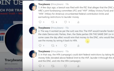 Tracy Beanz: DNC and Clinton Corruption Newly Exposed: FEC Lawsuit, and Wikileaks to the Rescue [VIDEO]