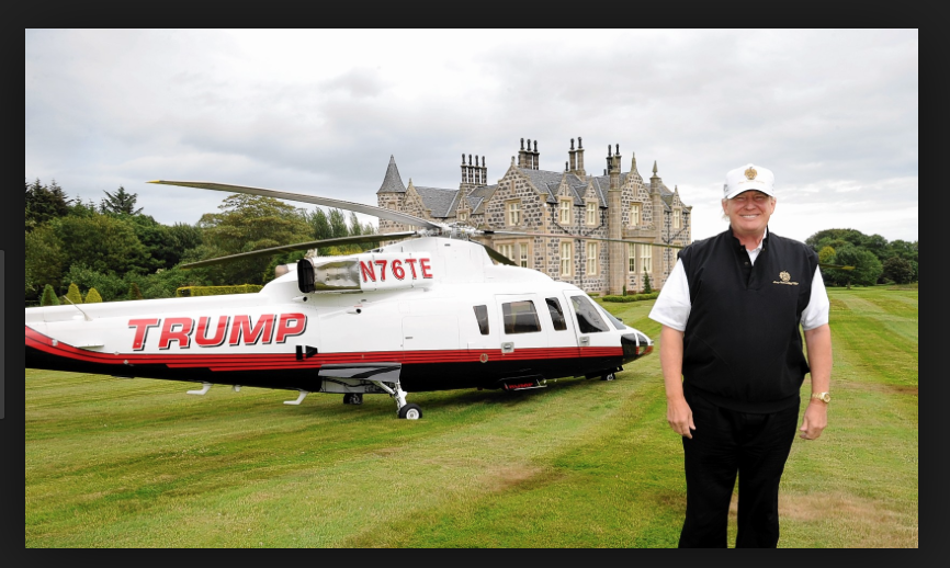 Two Trump helicopters crashed in past 9 months