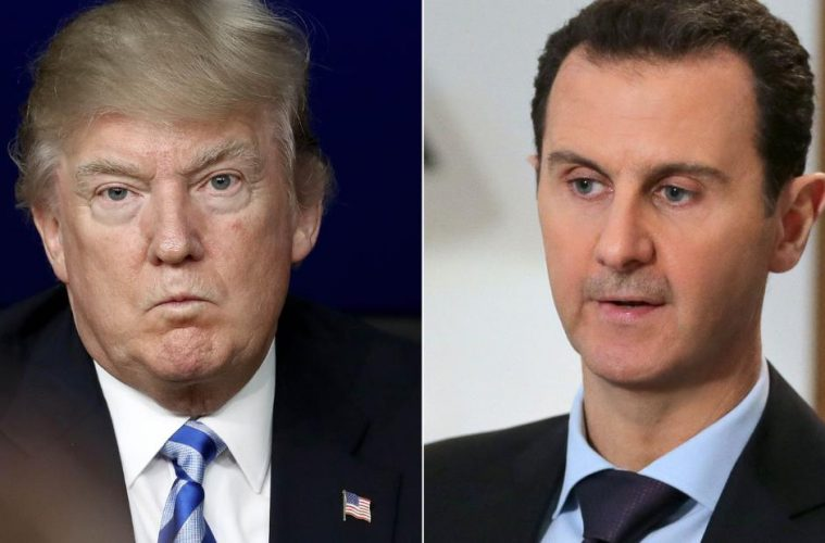 "SYRIAN PRESIDENT ASSAD SAYS ""THE DEEP STATE"" IS IN CONTROL OF AMERICA, NOT TRUMP"