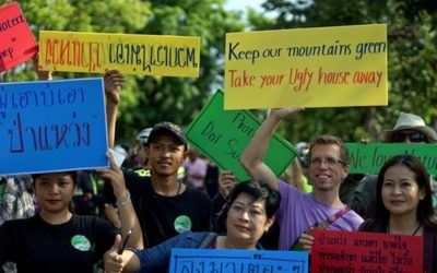 Thai activists claim victory over luxury housing on forest land