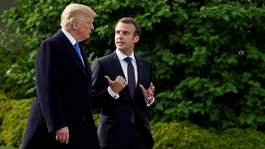 If US scraps Iranian nuclear deal, it 'could mean war' – French President Macron