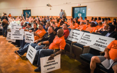 Actors were paid to support Entergy's power plant at New Orleans City Council meetings