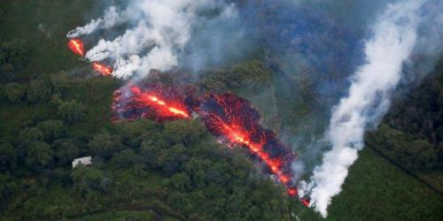 "Hawaii Residents Flee Volcano As New Fissure Sends Lava ""Several Hundred Feet Into The Air"""