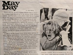 May Day '71: When Bob Parry Went to Jail in the Biggest Mass Arrest in U.S. History