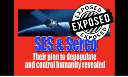 AIM: SES and Serco plan to control the world [VIDEO]