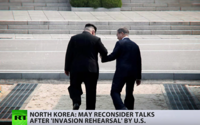N.Korea cancels talks with South, threatens to call off US talks over military drills [VIDEO]