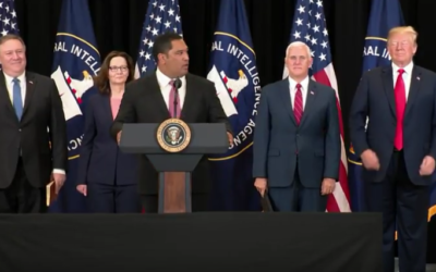 President Trump Participates in the Swearing-In Ceremony of the Director of the CIA [VIDEO]