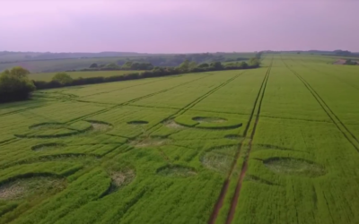 Cerne Abbas CROP CIRCLE 26 MAY 2018 [VIDEO]