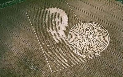 Who Could Make This Intricate Crop Formation With Binary Code Message Included, in the Middle of the Night?
