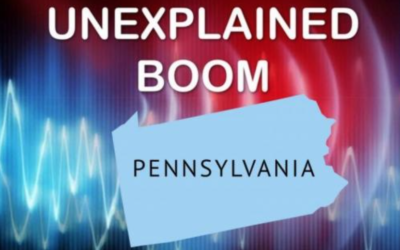 MSM and the FBI Now Attending to the Mysterious Booms Heard in Pennsylvania and Elsewhere [w/VIDEO]