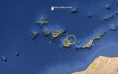 "25k ft Plume soars from Volcano – 30k Lightning strikes – Canary Island ""Swarm"" [VIDEO]"