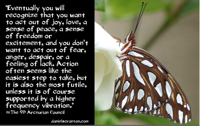 The Vibrations Supporting Your Actions ∞The 9D Arcturian Council