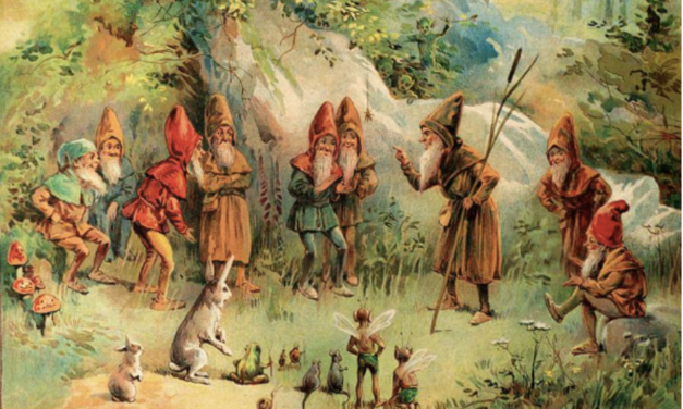 NATURE SPIRITS SAID TO INHABIT EARTH'S ASTRAL PLANE & INTERIOR: THE GNOMES