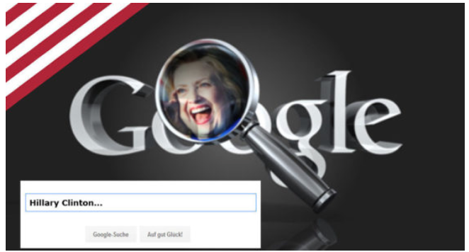 Research Shows Google's Search Manipulations Tried To Rig Election For Hillary