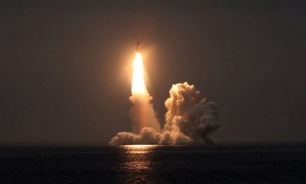 Russian Navy Tests Four Bulava SLBMs in Salvo