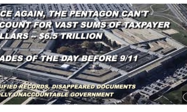 Will Pentagon Audit Lead to Missing Money?