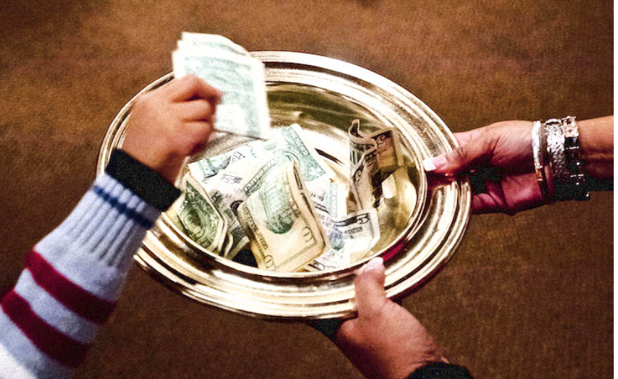 U.S. RELIGIOUS GROUPS GENERATE MORE MONEY THAN MICROSOFT AND APPLE COMBINED