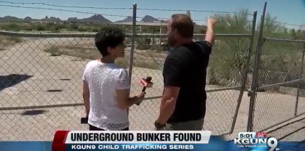 Underground bunker possibly used for human trafficking of children found in Tucson [VIDEO]
