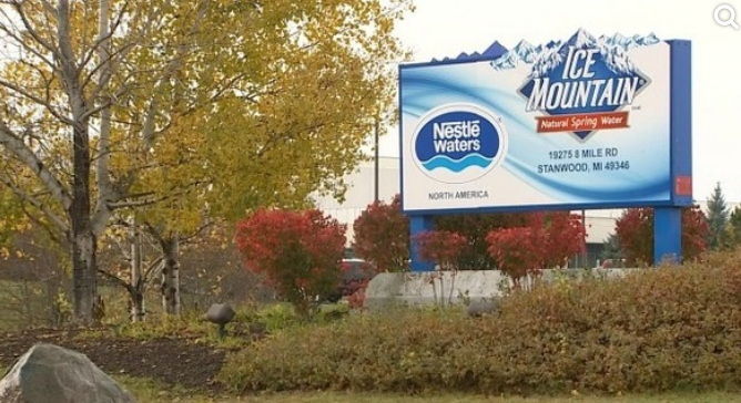 Group challenges Nestle's water permit from Michigan
