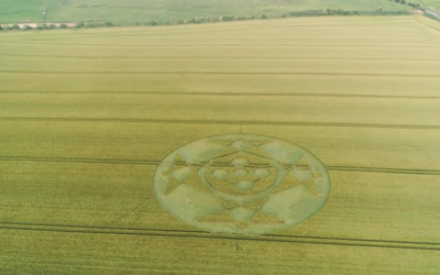 Hackpen Hill CROP CIRCLE [VIDEO]