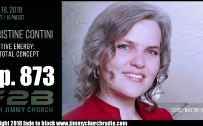 FADE to BLACK Jimmy Church w/ Christine Contini : New Book: Death: Awakening to Life : LIVE [VIDEO]