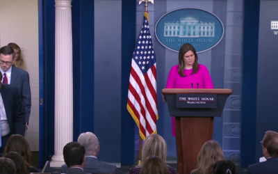 6/25/18: White House Press Briefing [VIDEO]