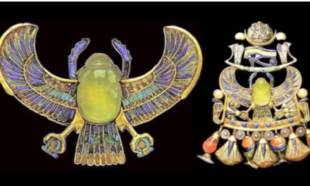 Ancient Atomic War – Evidence Found in Egyptian Jewelry [VIDEO]