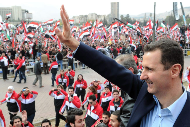 Syrian President Assad explains the REAL reason why he's still in power