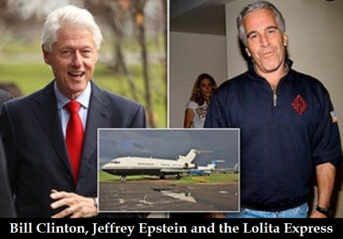 Bill Clinton confronted at book event about Lolita Express