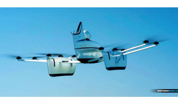 Amazing Flying Car Startup 'project Kitty Hawk' Financed By Google Co-founder Larry Page Begins Test Flights