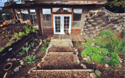 How This Couple Built an 'Earthship' Tiny Home For Less Than $10K