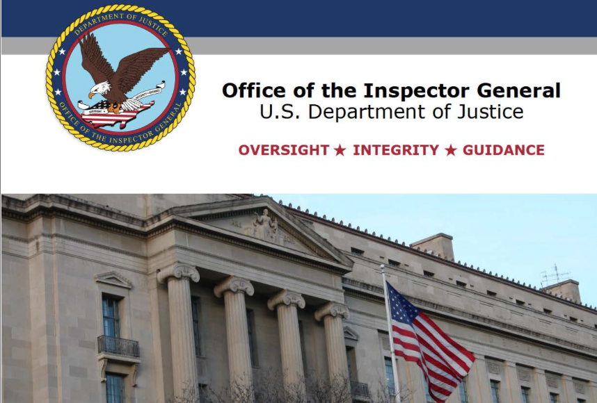 The OIG Report: First Pages, Conclusion and Recommendations, and a Link to the Original: A Review of Various Actions by the Federal Bureau of Investigation and Department of Justice in Advance of the 2016 Election