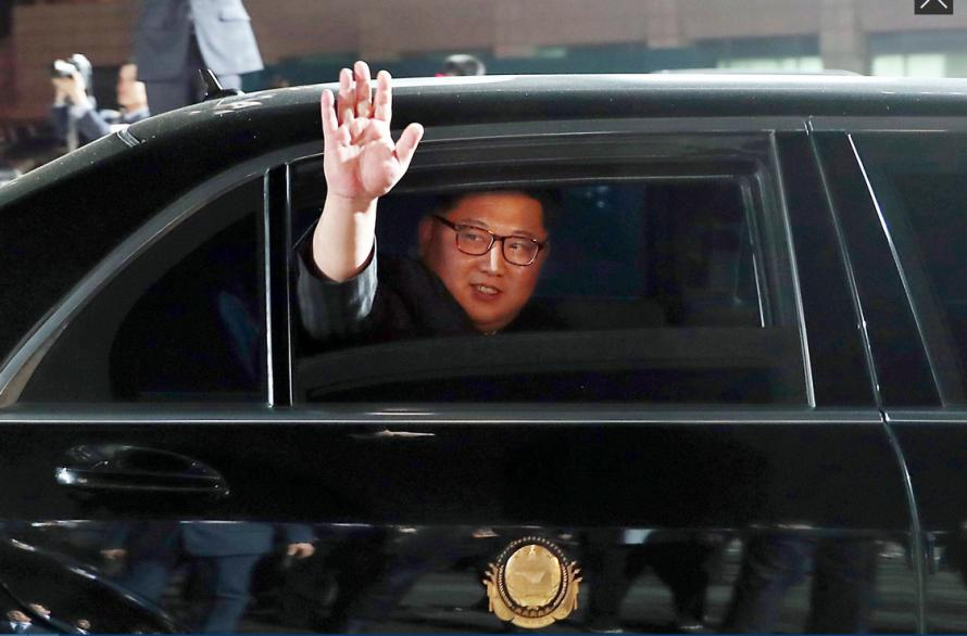 Kim Jong Un Arrives In Singapore In Chinese Boeing 747 For Historic Summit With Donald Trump