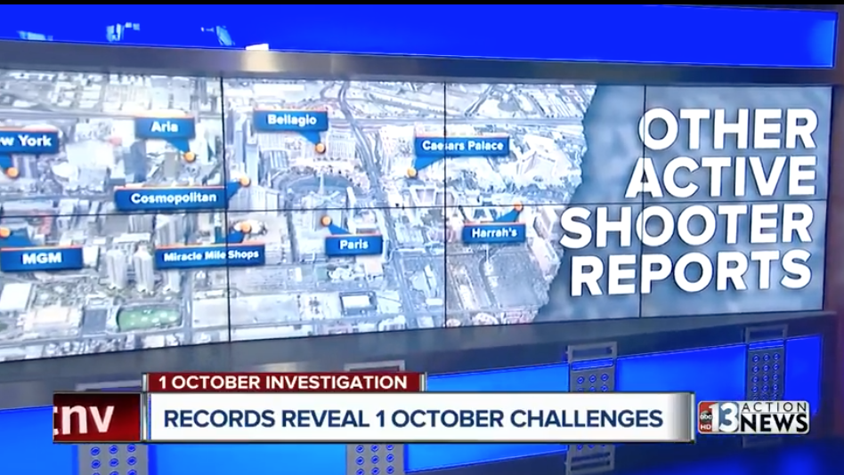 POLICE DOCS SHOW 12 RESORTS REPORTED ACTIVE SHOOTERS AND PADDOCK HAD 3 WOMEN IN HIS ROOM