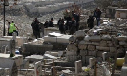 Israel digs up centuriesold Palestinian graves in Jerusalem