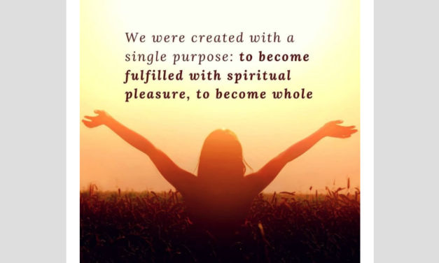 Pleasure as a Spiritual Path