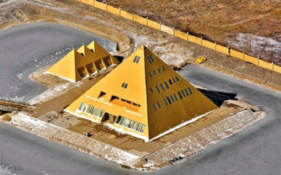 MAN BUILDS REPLICA OF THE GREAT PYRAMID AND TAPS INTO 'MYSTICAL ENERGY'