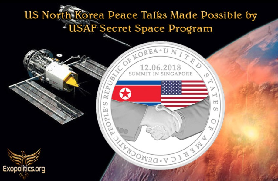 Dr. Michael Salla: US North Korea Peace Talks Made Possible by USAF Secret Space Program