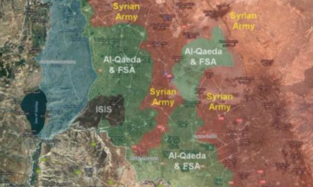 Massive Battle For Southwest Syria Could Trigger US-Israeli Intervention