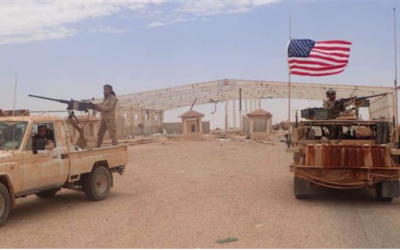 US-LED COALITION STRIKES SYRIAN ARMY NEAR AT-TANF // Report: US operating 19 terrorist training camps in Syria