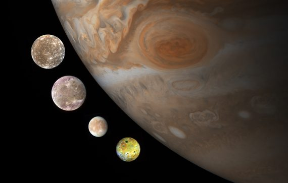 Hunt for Planet Nine Instead Finds 12 New Moons Around Jupiter