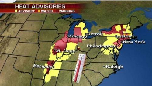"Temps To Hit 110 Degrees – Officials Warn ""Stay Inside"" As Holiday Heat Wave Hammers East Coast"