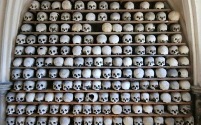 Mystery as 21 skulls dating back to the Dark Ages are stolen from Kent church's crypt