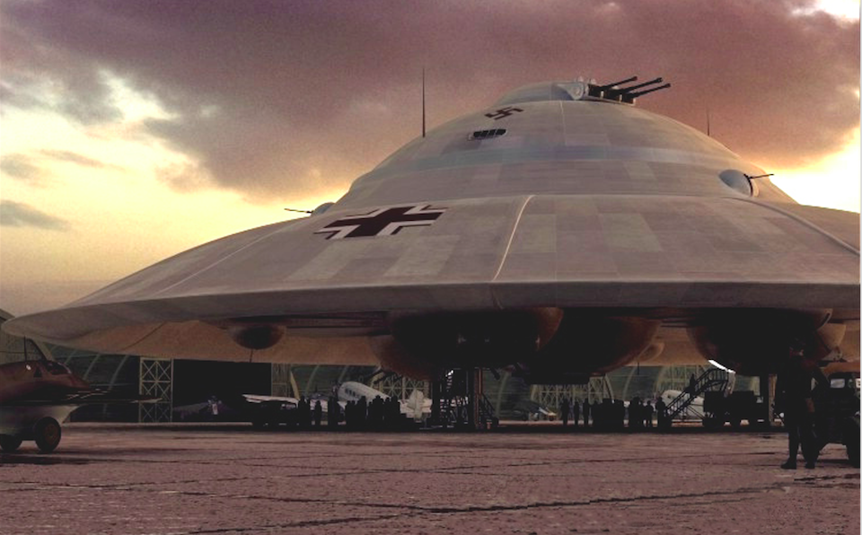 Declassified CIA Documents Suggest The Nazis Successfully Built UFOs