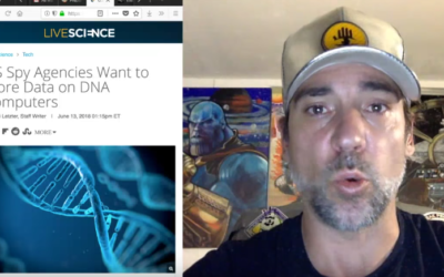 Spy Agencies Using DNA for Storage, Your Body Could Hold all Data Ever Created [VIDEO]