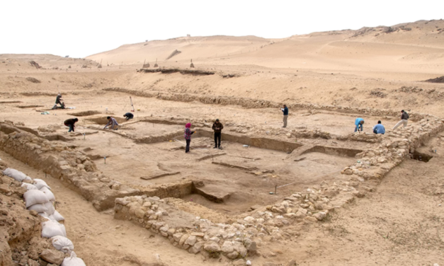 Two 4,500-Year-Old Homes Found Near Giza Pyramids