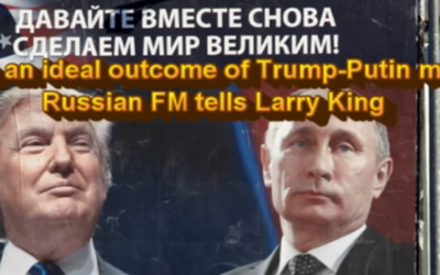 What is an ideal outcome of Trump-Putin meeting? Russian FM tells Larry King [VIDEO]